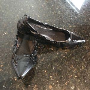 Black Pointy Toe Flats